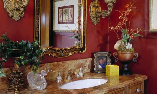 Fance and elegant bathroom design and remodeling Florida