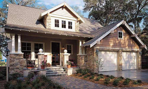 Craftsman and contemporary home design and build