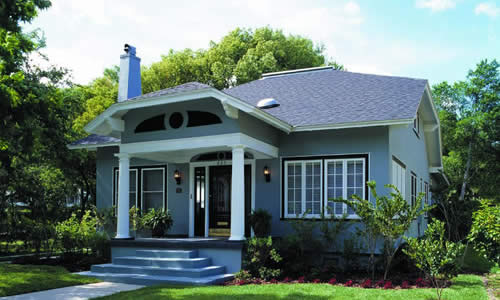 Craftsman house plans for Orlando home owner