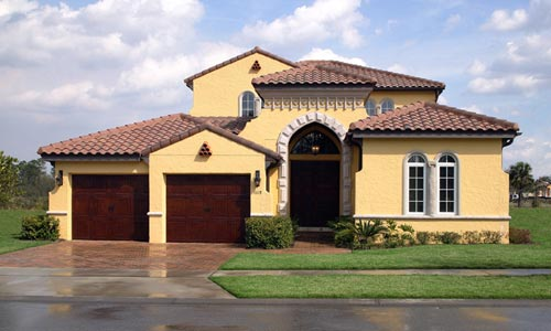 Spanish style homes in florida