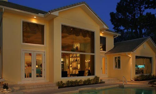 Mediterranean design for custom home in florida