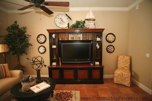 Media room interior renovation orlando area