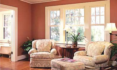 living room and custom home remodeling