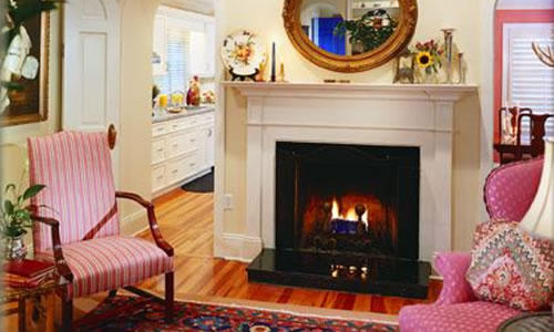 living room fireplace remodel in florida