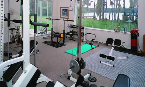 Excercise room additions custom builder orlando, florida
