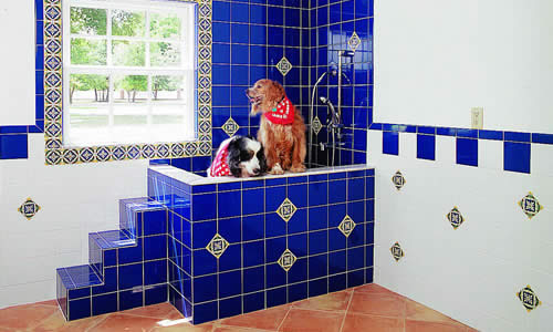 New tiled bathroom builder and remodeler