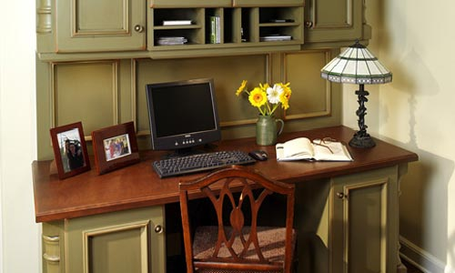 Desk and kitchen remodel custom homes florida