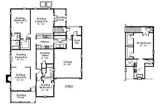 AFTER ANALYSIS Total Living Area: 2534 sq. ft.