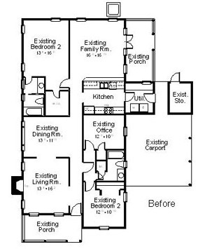 BEFORE ANALYSIS Total lower level living area: 1904 sq.ft.