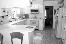 The kitchen before.