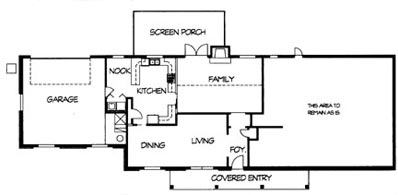 Before BEFORE ANALYSIS Total Living Area 2281 sq.ft.