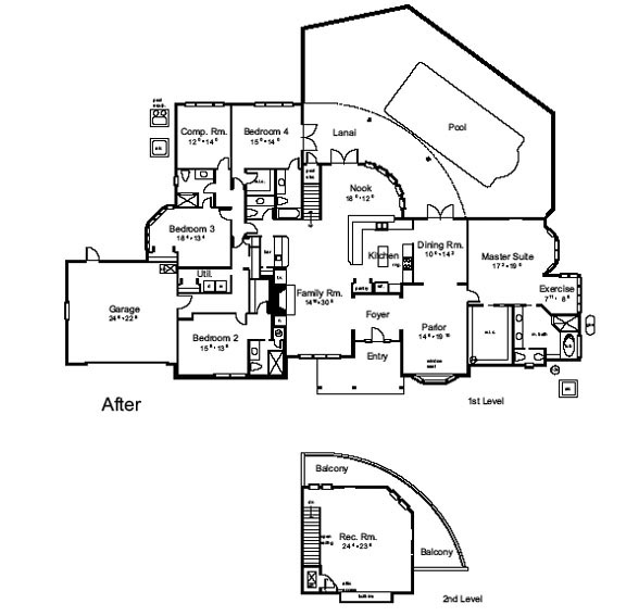 AFTER ANALYSIS 6241 sq. ft.