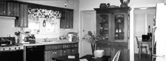 The kitchen before renovation.