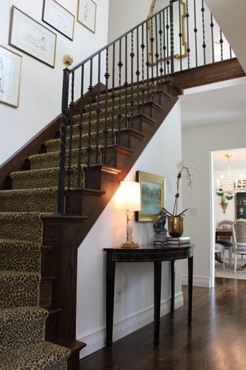 Foyer-and staircase