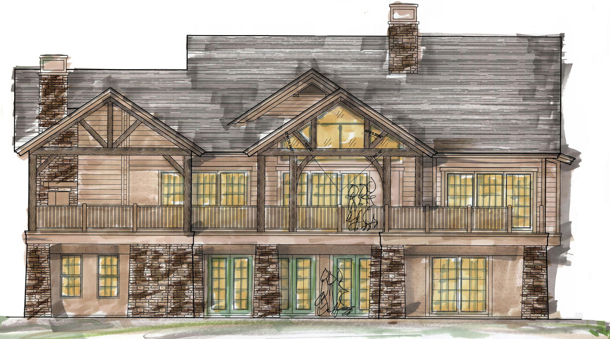 lodge style vacation home to be built on 1 200 acres