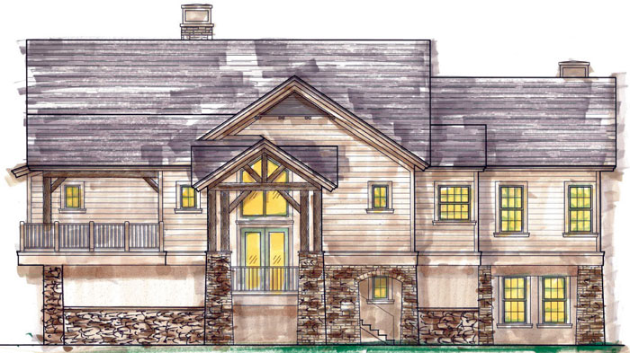 Vacation Home To Be Built On 1200 Acres